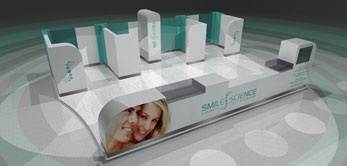Smile Science Kiosk design and manufacture by White Rose Services