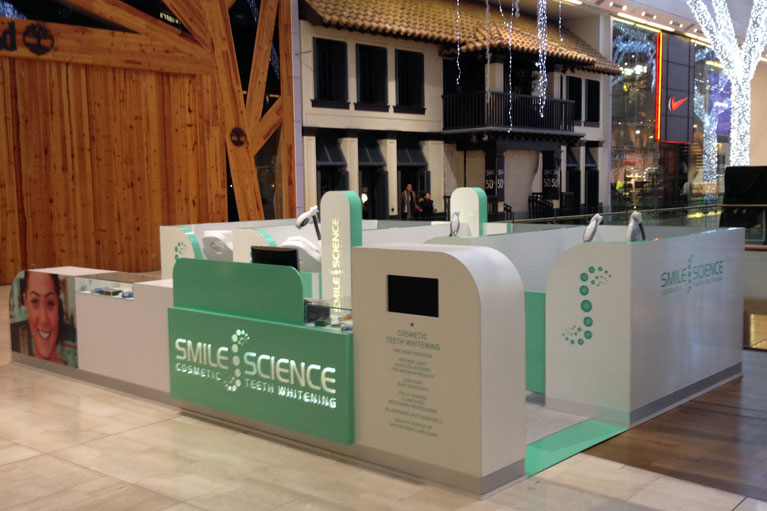 Design, manufacture and installation of Smile Science kiosks