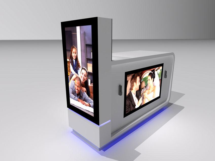 MPK kiosks design