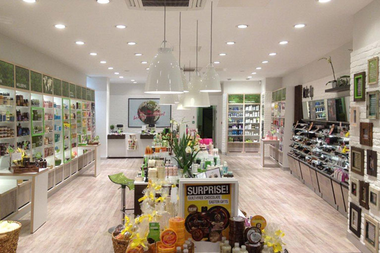 The Body Shop nationwide refit