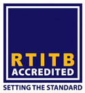 RTITB Accredited logo