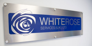 White Rose Sign