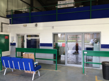 Shop fitting carried out by White Rose Services for ATS Selby