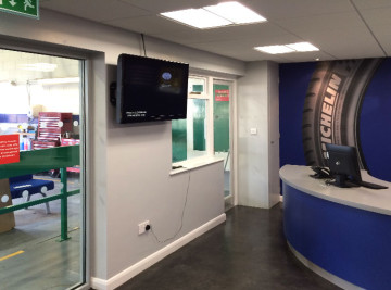 Shopfitting of ATS stores in Selby and throughout the UK