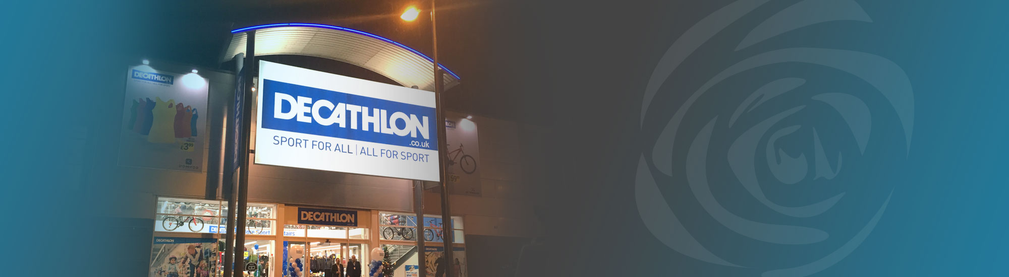 Shopfitting and Interior Fit-Out for Decathlon Stores